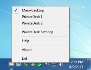 Enlarge PrivateDesk Screenshot