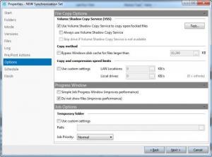 Enlarge KLS Backup 2013 Screenshot