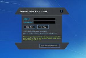 Enlarge Relax Water Effect Screenshot