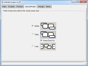 Enlarge Infinite Screen Screenshot