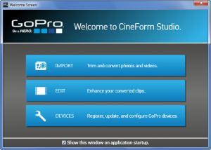Enlarge GoPro CineForm Studio Screenshot