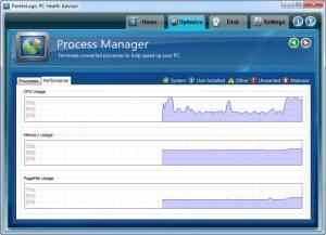 Enlarge PC Health Advisor Screenshot