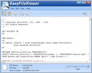 Enlarge EasyFileViewer Screenshot