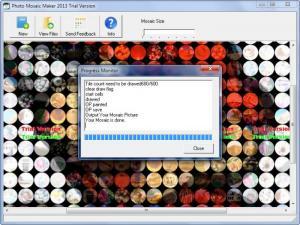 Enlarge Photo Mosaic Maker Screenshot