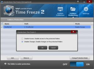 Enlarge Wondershare Time Freeze Screenshot