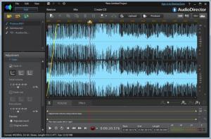 Enlarge CyberLink AudioDirector Screenshot