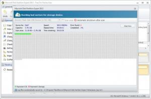Enlarge Macrorit Disk Partition Expert Home Edition Screenshot