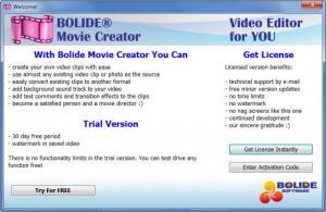 Enlarge Bolide Movie Creator Screenshot