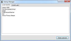 Enlarge Xvirus Privacy Keeper Screenshot