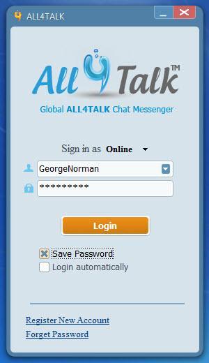 Enlarge All4Talk Screenshot