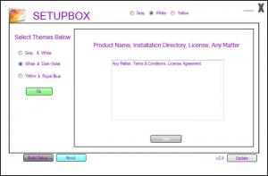 Enlarge SetupBox Screenshot