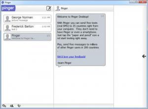 Enlarge Pinger Desktop Screenshot