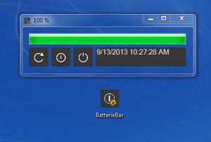 Enlarge Dalenryder BatterieBar Screenshot