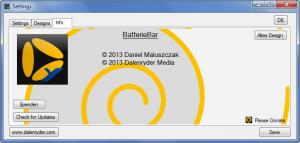 Enlarge Dalenryder BatterieBar Screenshot