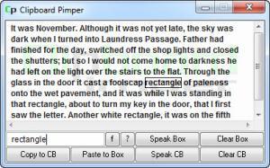 Enlarge Clipboard Pimper Screenshot