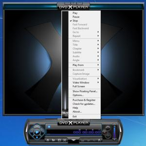 Enlarge DVD X Player Screenshot
