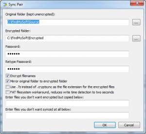 Enlarge CryptSync Screenshot