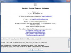 Enlarge Lockbin Screenshot