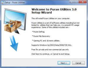Enlarge Puran Utilities Screenshot