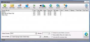 Enlarge Audio Switch Screenshot