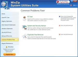 Enlarge WinZip System Utilities Suite Screenshot
