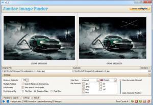 Enlarge Similar Image Finder Screenshot