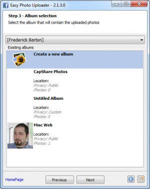 Enlarge Easy Photo Uploader Screenshot