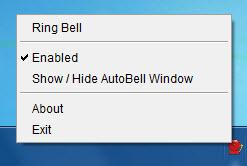 Enlarge Auto Bell Screenshot