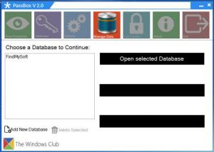 Enlarge PassBox Screenshot