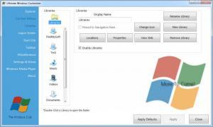 Enlarge Ultimate Windows Customizer Screenshot