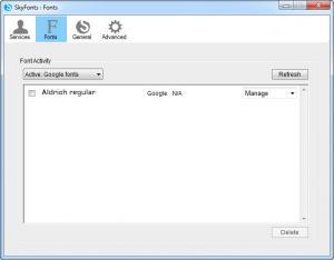 Enlarge SkyFonts Screenshot