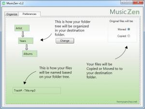 Enlarge MusicZen Screenshot