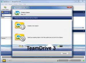 Enlarge TeamDrive Screenshot