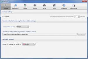 Enlarge TeamDrive Screenshot