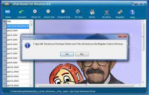 Enlarge ePub Reader Screenshot