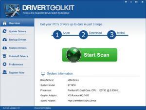 Enlarge DriverToolkit Screenshot