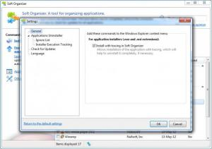 Enlarge Soft Organizer Screenshot