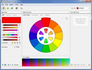 Enlarge ColorSchemer Studio Screenshot