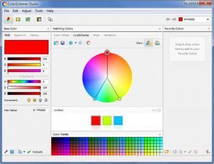 Enlarge ColorSchemer Studio Screenshot