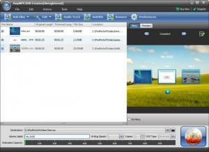 Enlarge AnyMP4 DVD Creator Screenshot