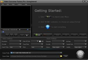 Enlarge Video Converter Factory Pro Screenshot