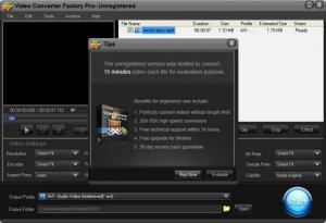 Enlarge Video Converter Factory Pro Screenshot