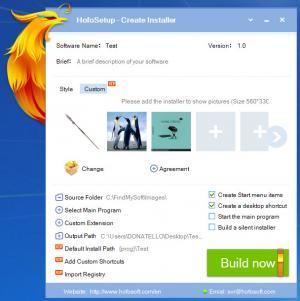 Enlarge HofoSetup Screenshot