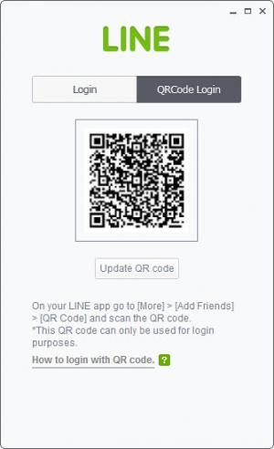 Enlarge LINE Screenshot