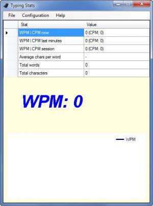 Enlarge TypingStats Screenshot