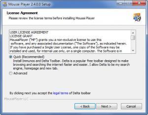 Enlarge Mousai Player Screenshot