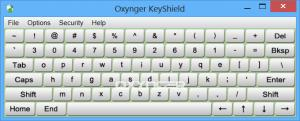 Enlarge Oxynger KeyShield Screenshot