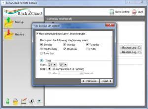 Enlarge Back2Cloud Screenshot