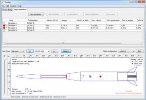 Enlarge OpenRocket Screenshot