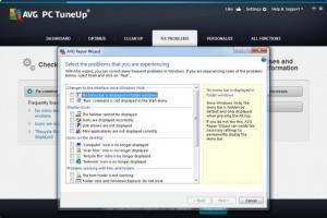 Enlarge AVG PC TuneUp Screenshot